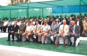 Autoridades presentes en el acto