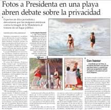 Publicación de El Mercurio, un debate ridículo sobre la ética