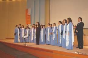 Actuación del Coro de la Universidad Católica de Cuyo