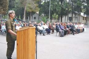 Habla el Jefe del RIM 22, Tte. Cnel. Alberto Osvaldo Quiñones