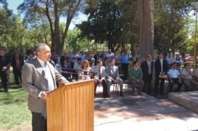 El intendente municipal de Chimbas, Mario Tello destacó las obras que se están realizando en el departamento