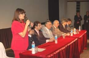 La Dra. Amanda Díaz, coordinadora del Centro de Asesoramiento Previsional alude a la entrega de los 400 nuevos beneficios jubilatorios