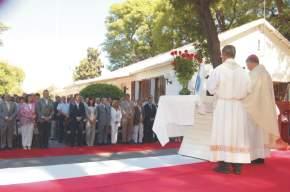 Autoridades en la Misa en Acción de Gracias