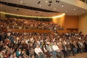 El Centro de Convenciones repleto de asistentes al foro