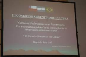 Disertación sobre el Corredor Bioceánico y Cultura