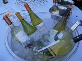 Vinos argentinos en la degustación