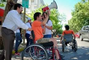 Personas que sufrieron accidentes de tránsito participaron de la campaña