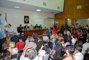 """El Intendente Marcelo Lima presidió el acto de entrega de """"Certificados de Finalización de los Cursos de Computación"""""""