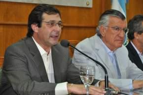 Habla el vicegobernador José Rubén Uñac
