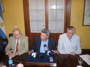 El Intendente de Calingasta, Robert Garcés agradece al Gobierno provincial, a OSSE y a la empresa minera
