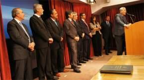 Habla em ministro de Planificación Federal, Julio De Vido, en el acto de asunción de funcionarios de su cartera