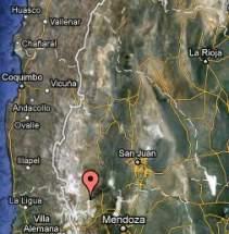 Zona de exploraciones. Cordillera del Tigre