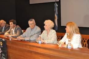 Estela Barnes de Carlotto agradeció el recibimiento de San Juan