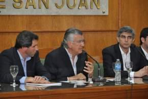 El gobernador Gioja destaca la iniciativa ministerial de rendir cuentas de lo trabajado