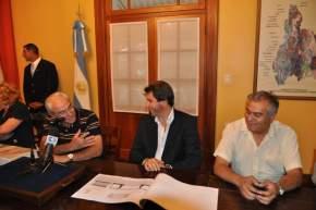 El director de Vialidad Provincial, Edgardo Güerci explicó los datos técnicos de la obra a realizar