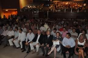 En el Centro de Convenciones tuvo lugar el encuentro deportivo para distinguir a los mejores de cada disciplina que sobresalieron en este año