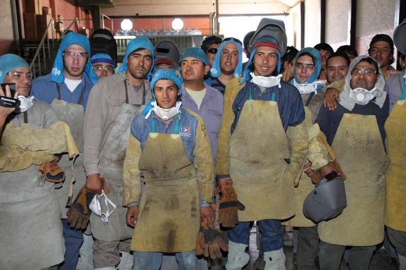 Entregaron certificados a soldadores capacitados por barrick - Grupo de soldadura ...