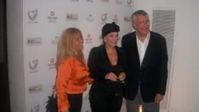 Marina Riofrio, Graciela Borges y el Gobernador José Luis Gioja