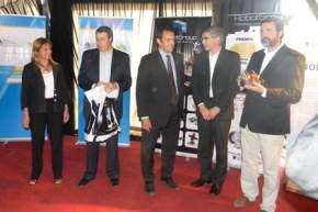 En el Predio Ferial, con la presencia de autoridades provinciales y de la UNSJ, el Ministerio de Ciencia, Tecnología e Innovación Productiva de la Nación entregó los robots a la Escuela Industrial