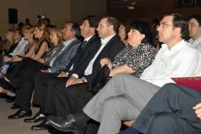 Autoridades provinciales en la presentación de las candidatas a reina y virreina nacional del sol 2013