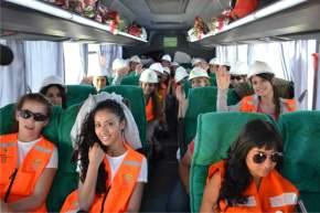 Viajando al norte de Jáchal para visitar Gualcamayo