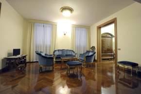 Una de las salas de la Casa de Santa Marta