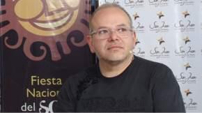 El director del proyecto Carrusel del Sol, arq. Carlos Sisterna, explicó sobre la capacitación que se lleva a cabo con los representantes de los municipios y colectividades