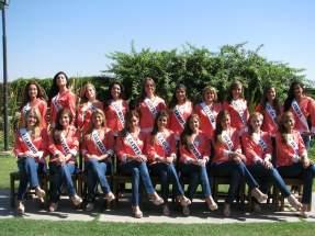 Las candidatas a reina nacional del sol 2014