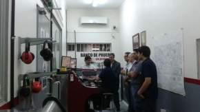 El director de la Agencia San Juan de Desarrollo de Inversiones, contador Fabián Ejarque se reunió con representantes del Grupo Asociativo Metalmecánica y de la empresa nodo Cerros de Cuyo SRL