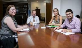 Reunión con autoridades del Sedronar