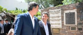 El ministro nacional recorrió la Casa de Sarmiento junto a las autoridades provinciales