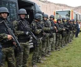 Integrantes del Grupo Especial de Rescate, Ayuda y Seguridad
