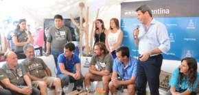 El gobernador Uñac pidió a los organizadores del Dakar que San Juan vuelva a ser etapa de la competencia el próximo año