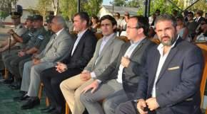 Autoridades en el acto realizado en Marquesado