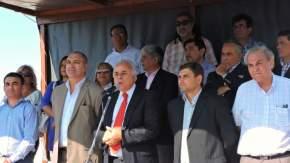 Dirige la palabra el vicegobernador Marcelo Lima, en ejercicio del P.E.