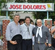 En el santuario del Gaucho José Dolores, Gioja, Uñac y Lima