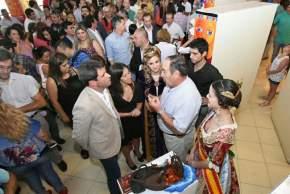 Explican al gobernador Uñac y a la ministro Grynszpan sobre productos que se exhibirán en la FNS 2016