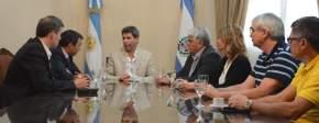 Reunión con funcionarios del BID