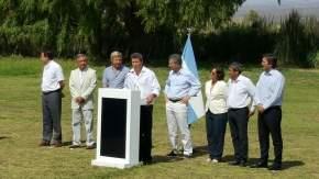 Dirige la palabra el gobernador Uñac y resalta el federalismo del gobierno nacional