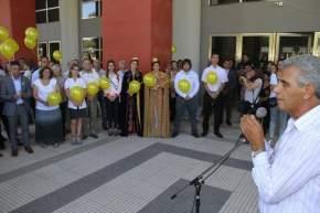 Dirige la palabra el ministro de Desarrollo Humano Walberto Allende