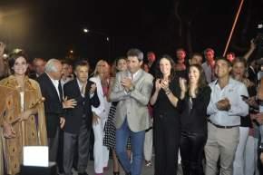 Las autoridades en el inicio del acto apertura de la FNS 2016