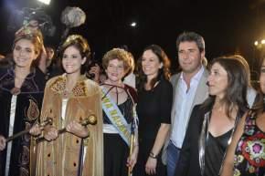 El gobernador Uñac con la ministra de Desarrollo Social de la Nación, Carolina Stanley y la ministra local Claudia Grynszpan, reinas del 2015