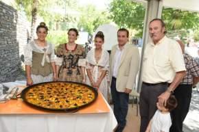Preparativos para celebrar las Fallas Valencianas