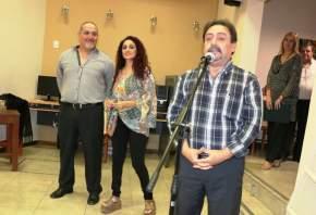 El secretario Legislativo de la Cámara de Diputados, Mario Herrero ofreció la bienvenida a todos los presentes