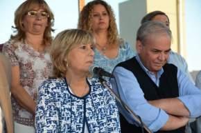 Hicieron uso de la palabra el secretario de Viviendas, Vicente Marrelli y la secretaria gral. de UDAP, Graciela López