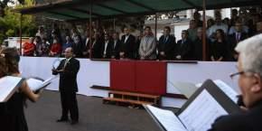Acto conmemorando el 40º aniversario del último golpe dictatorial en nuestro país