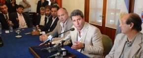El gobernador Sergio Uñac anuncia el nuevo programa de pavimentación de 1.000 cuadras