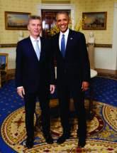 Macri asistió a una cena que ofreció el presidente de Estados Unidos, Barack Obama, junto a sus pares que asisten a la Cumbre de Seguridad Nuclear.