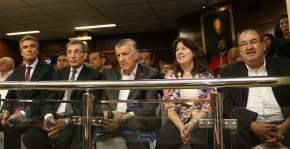 Legisladores nacionales asistieron a la apertura de las sesiones