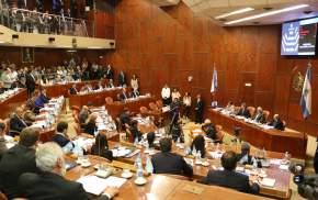 Finalizado el mensaje del gobernador el cuerpo legislativo pasó a cuarto intermedio